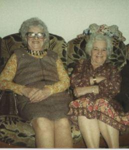 Nana & Auntie Kath
