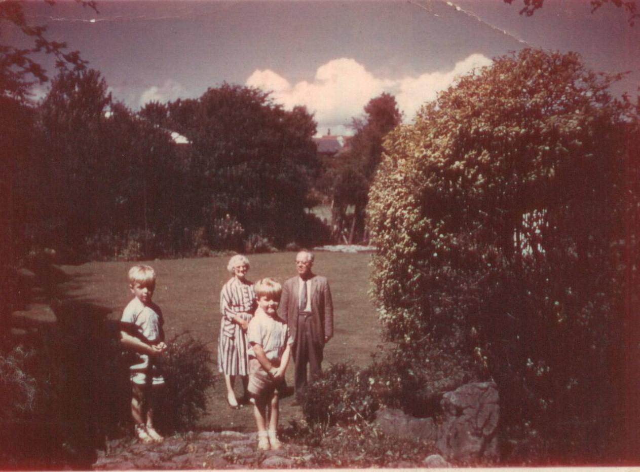 Nana & Papa with Norman and Paul Rhodes