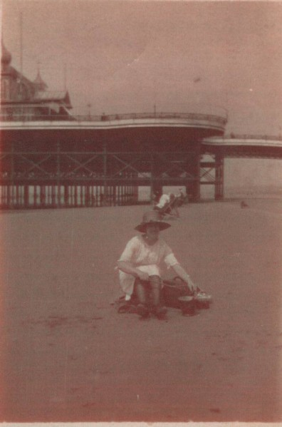 Minnie Constance Stott, Blackpool 1924